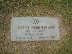 Joseph Webb Beranc