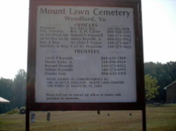Mount Lawn Cemetery