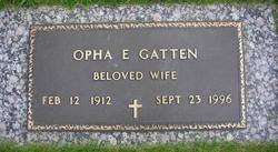 Opha Edna <i>Wining</i> Gatten