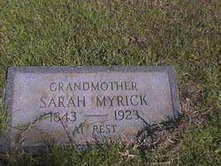 Sarah E. <i>Payne</i> Myrick