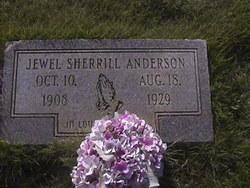 Jewell <i>Sherrill</i> Anderson
