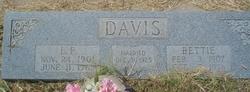 Bettie Elizabeth <i>Stephens</i> Davis
