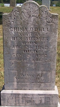 Anna China <i>Odell</i> Ausmus