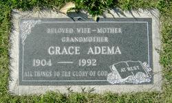 Grace <i>Van Hofwegen</i> Adema