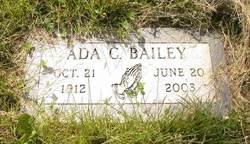 Ada C <i>Richardson</i> Bailey
