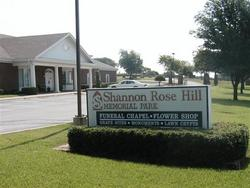 Shannon Rose Hill Memorial Park