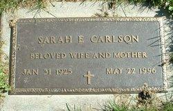 Sarah E. <i>Hanley</i> Carlson