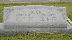 Connie <i>Bonds</i> Beck
