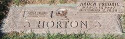Arden Fredric Horton
