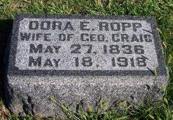Dora E. <i>Ropp</i> Craig