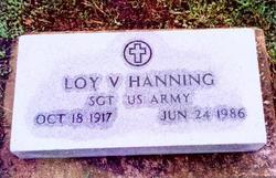 Loy Vernon Hanning