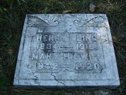 Mary Angeline <i>Hershberger</i> Ling