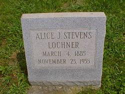 Alice J <i>Stevens</i> Lochner