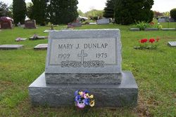 Mary Jane <i>Barber</i> Dunlap