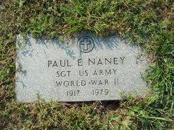Sgt Paul E. Naney