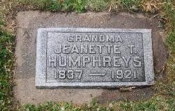 Jeanette Tyler <i>Huson</i> Humphreys