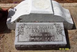 Josephine <i>Norris</i> Barbee