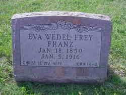 Eva <i>Wedel Frey</i> Franz