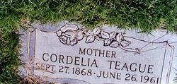 Cordelia May <i>Johnson</i> Teague