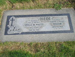 Sheila M <i>Walter</i> Diede
