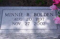 Minnie <i>Bell</i> Bolden