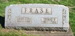Sarah Lydia Frase