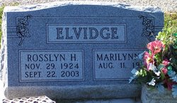 Rosslyn H. Elvidge