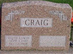 Keith Edwin Craig