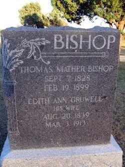 Edith Ann <i>Gruwell</i> Bishop