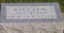 Bert E. Craig