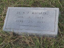 William Poe Mauldin