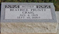 Beatrice Mae <i>Prunty</i> Craig
