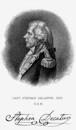 Stephen Decatur, Sr