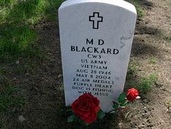 M D Blackard