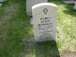Ruben Lewis Bowman
