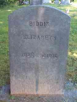Elizabeth <i>Hall</i> Biddix