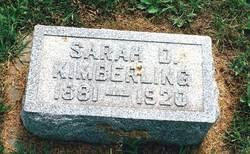 Sarah Delilah <i>Harper</i> Kimberling