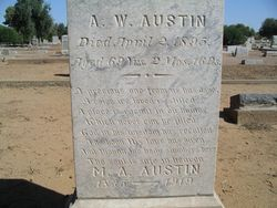 Martha Ann <i>Wilson</i> Austin