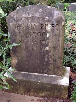 Virginia <i>Rives</i> Hancock