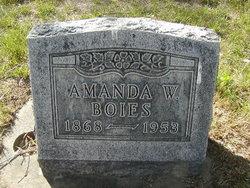 Amana W Boies