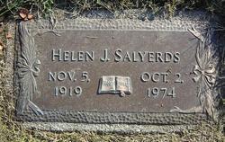 Helen J. <i>Stimpfel</i> Salyerds