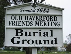 Old Haverford Friends Meeting House Cemetery