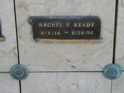 Rachel Frances <i>Stauff</i> Ready