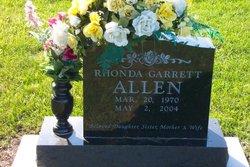 Rhonda <i>Garrett</i> Allen