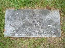 Frank Austin Buck Rodgers, III