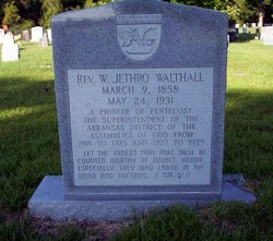 Rev William Jethro Walthall