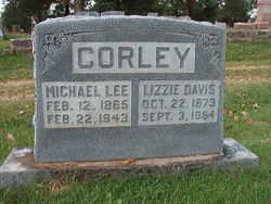 Lizzie <i>Davis</i> Corley