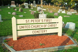 St Peters First Cemetery