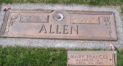 Mary Frances Allen