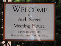 Friends Arch Street Meeting House Burial Ground